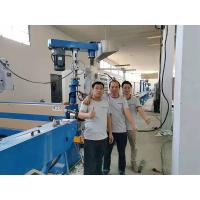 Power Cable Extruder Machine Twin - Screw Sin / Dual Control System Manufactures