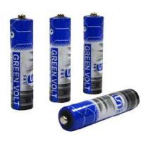 Buy cheap R03AAA Carbon Zinc Battery (Green Volt) from wholesalers