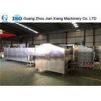 China High Flexibility Ice Cream Cone Baking Machine , Wafer Production Line SD80-L53X2 on sale