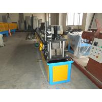 Gcr15 Steel Stud And Track Roll Forming Machine / Metal Roll Former 5.5KW Manufactures