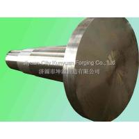 ASTM / ASME Forging Auto Drive Shaft  Carbon / Alloy Steel Forged Turbine Shaft Manufactures