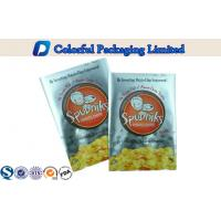 50g Back Side Heat Sealing Potato Chips Packaging with Glossy printing Manufactures