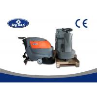 Buy cheap Electric Battery Powered Hard Floor Brush Scrubber Machine 100 Litre Recovery from wholesalers
