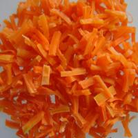 Cheap Red Delicate Freeze Dried Food Carrot Strips Wholesale Dried Vegetables Manufactures