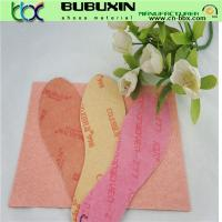 Hot sell in South American Fibra nonwoven  fiber insole board for shoe insole Manufactures
