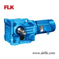 Helical Bevel Gearbox K series for Creper/Crusher/Crumb Rubber Processing Machine Manufactures