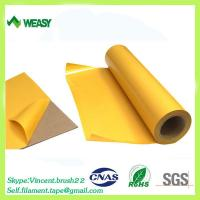 Quality Hot melt double side PET adhesive tape for sale
