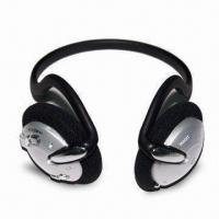 China Headset MP3 Player with FM Radio, Lithium Battery, Headphones/Headset/Earphones on sale