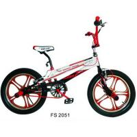 Alloy V Brake Custom BMX Bikes One - Piece Magnesium Wheels Manufactures