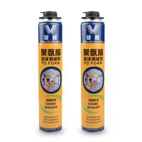 China White Polyurethane Foam Filler , Window And Door Insulating Foam Sealant on sale