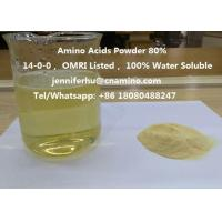 Compound Amino Acids Powder 80% 70% 60% 52% 50% 45% 40% Organic Fertilizer, 14-0-0, OMRI Listed Manufactures