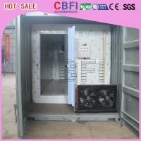Quick Freezing Customized Container Cold Room 20 Ft Or 40 Ft Optional Manufactures