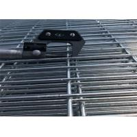 China Precision prison galvanized weld mesh security fencing 358 mesh fencing on sale