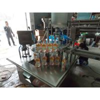 China 350ML Automatic Packaging Machine Liquid And Paste Stand Pouch Packing Machine on sale