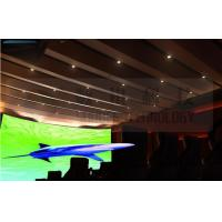 Flat screen 4D movie theater , curved screen , special effect Manufactures