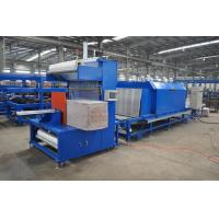 High Speed PU Sandwich Panel Production Line , Polyurethane Sandwich Panel Line Manufactures
