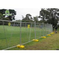 China Stainless Steel Temporary Fence Panels / Portable Security FencingFor Traffic on sale