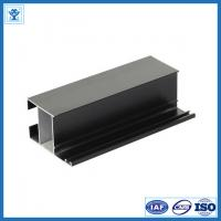 China Black anodize oxidation extruded aluminum profiles for LED light , tolerance 0.2mm on sale