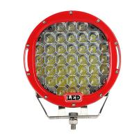 9 inch Led work light with 111Watt , 37pcs*3w high intensity CREE LEDS, Black, Red, Bule, Yellow Body color available Manufactures