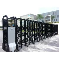 Powder Coated Automatic Retractable Gate IP 44 Smart For College Manufactures