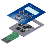 China Metal Dome Membrane Push Button Switch Touch Screen Backlit Membrane Switch on sale