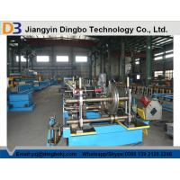 Galvanized Outdoor Flexible Perforated Cable Tray Machine With Decoiling / Feeding / Guiding Manufactures