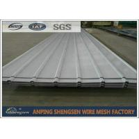 China Alloy Corrugated Steel Sheets / Corrugated Metal Roof Panels 1m - 11.8m Length on sale