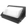 Buy cheap wall light housing extrusted aluminum Glass cover balck color garden light DLC from wholesalers