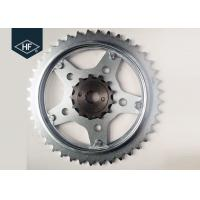 Spare Part 1045 Steel Sprockets Motorcycle Chains And Sprockets CBX250 / 520 Manufactures