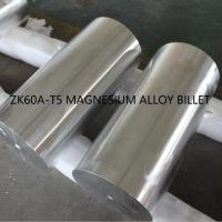 China Extruded Magnesium Metal Rod , Magnesium Alloy Bar Energy Saving Cuttable on sale