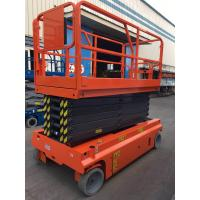 Self Propelled Hydraulic Scissor Lift 13.7m Extendable Electric Driven Manufactures