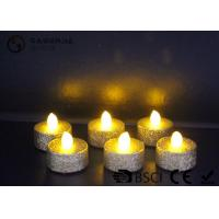 Indoor / Outdoor Led Tea Light Candles With Dusted  Long Operating Life set of 6 Manufactures