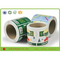 Eco - Friendly Self Adhesive Matte Paper Gold Hot Stamping Waterproof Sticker Paper Manufactures