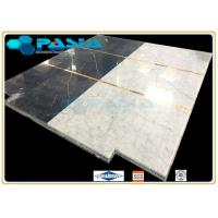 Buy cheap Water Jet Cut and Jointed Pattern Marble Stone Honeycomb Mosaic Tile for Commercial Elevator Floor from wholesalers