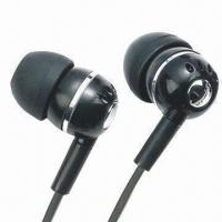 Canal Earphones with 115dB Sensitivity and 20Hz to 20kHz Frequency Response Manufactures