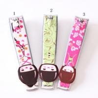 Novelty Design Printed Promotional Nail Clippers Key Rings For Personalization Manufactures