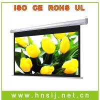 """China Hottest!!! 48""""-300"""" electric projector screen on sale"""
