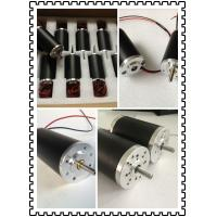 China Permanent magnet tubular brushed dc electric motor 50w on sale