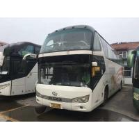 59 Seats 2015 Year Used Coach Bus Higer Brand One And Half Decker 3795mm Bus Height Manufactures