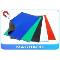 Self Adhesive Rubber Magnet Sheets Colorful , Fridge Magnetic Rubber Sheet Manufactures