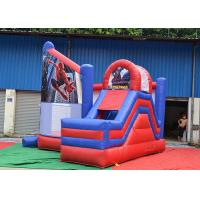 0.55mm Thickness Kids Inflatable Jumping Castle OEM For Outdoor Playground Manufactures