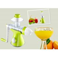 Quality Green Color Hand Ice Cream Maker Overall Unit Washable Non Electric Type for sale
