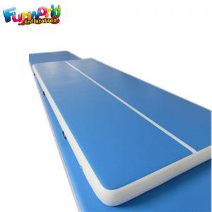 Buy cheap Blue Air Board For Gymnastics / Air Floor Tumbling Mat Acrobatics Classes from wholesalers