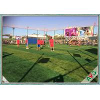 5 / 8 inch Tuft Guage Soccer Artificial Grass Environmental Skin Safety Easy To Shape And Install Manufactures