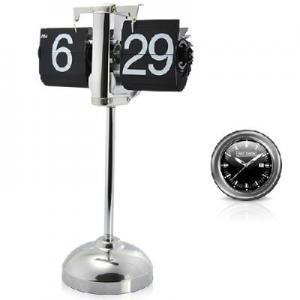 China Retro Flip Down Clock With Telescopic Pipe on sale