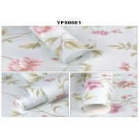 Eco - Friendly Custom Strippable Self Adhesive Wallpaper For Sofa Background Manufactures