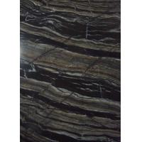 China Decorative Industrial Marble Stone Slab 2.68 G / Cm³ Density Black Color on sale