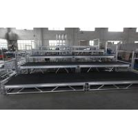 Toughened Glass Movable Stage Platform / Temporary Stage Platforms Manufactures