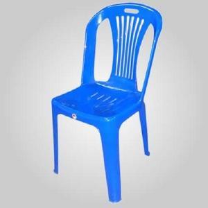 plastic  chair  blue Manufactures