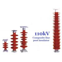 110 kV Polymer Line Post Type Insulator Safety For Power Substations Manufactures